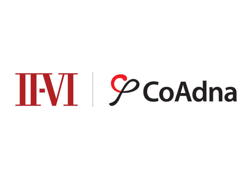 II-VI Incorporated to Acquire CoAdna, a Leader in Wavelength Selective Switches