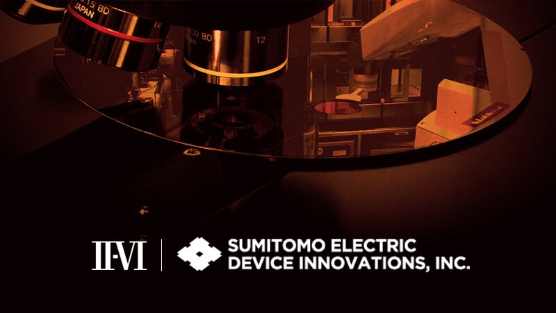 II-VI Incorporated and Sumitomo Electric Device Innovations Establish Strategic Collaboration to Enable Next Generation 5G Wireless Networks