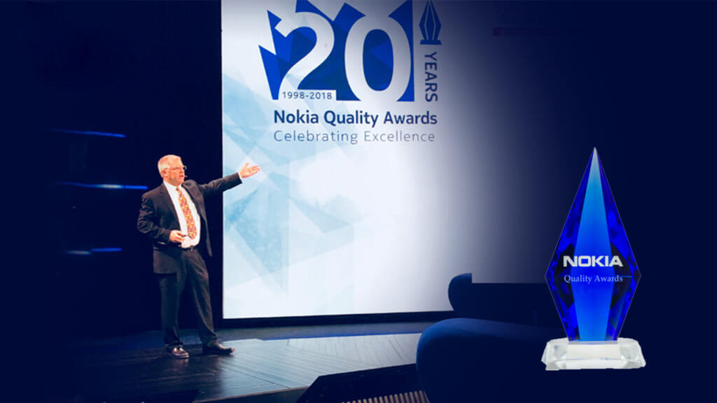 II-VI Incorporated Wins 2018 Nokia Quality Awards™ Competition in the Supplier Excellence Category