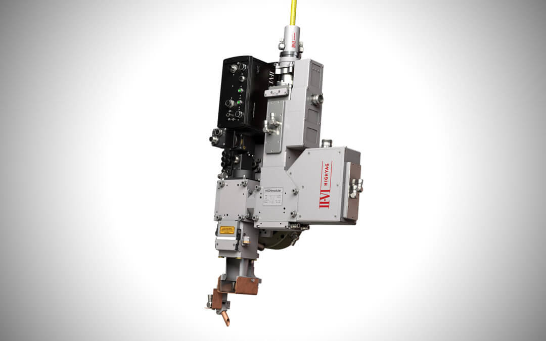 II-VI Incorporated Unveils Highly Flexible Laser Materials Processing Head with Control Unit and Graphical User Interface