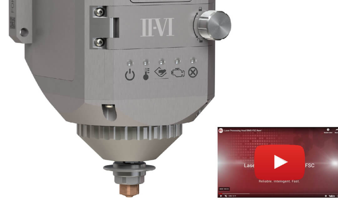 II-VI Incorporated Unveils the First Commercial Laser Cutting Head with Zoom Optics for Ring-shaped Laser Beams