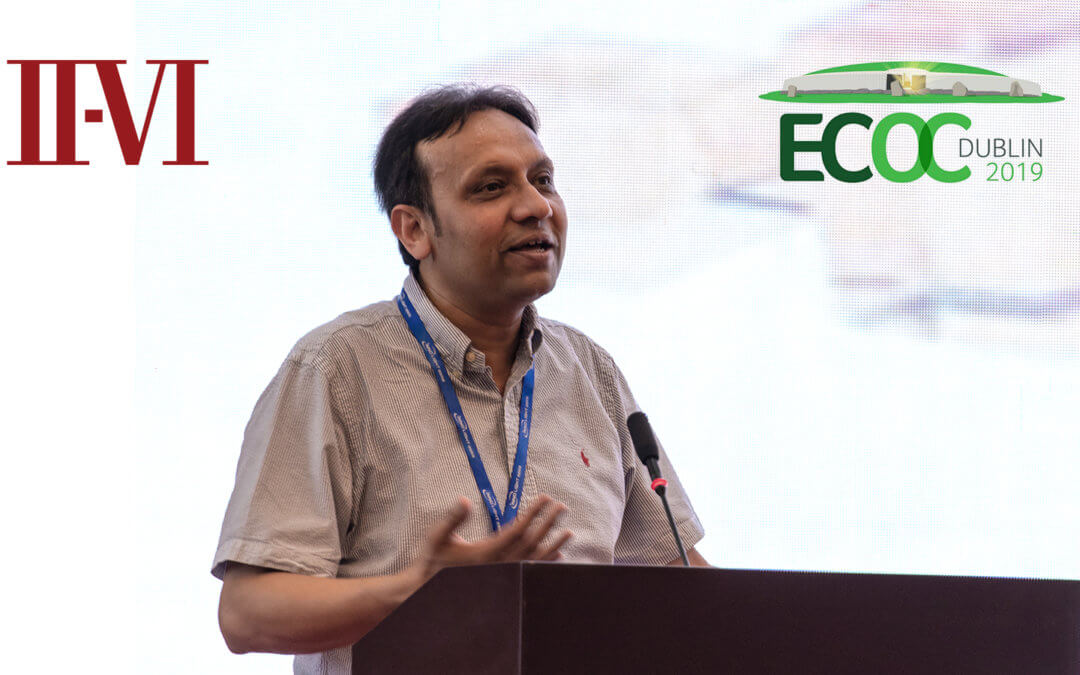 II-VI Incorporated Executive to Present Invited Talk at ECOC Market Focus 2019