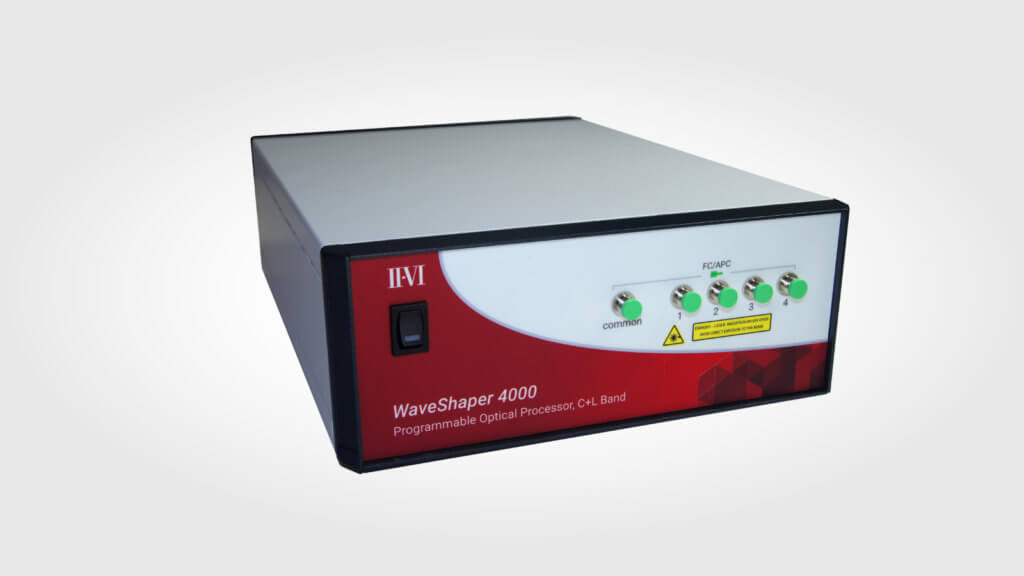 II-VI Incorporated Extends WaveShaper Programmable Optical Processor Product Line for Operation in the S- and Extended L-Bands